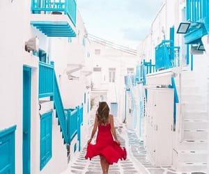 Greece, mykonos, and summer image