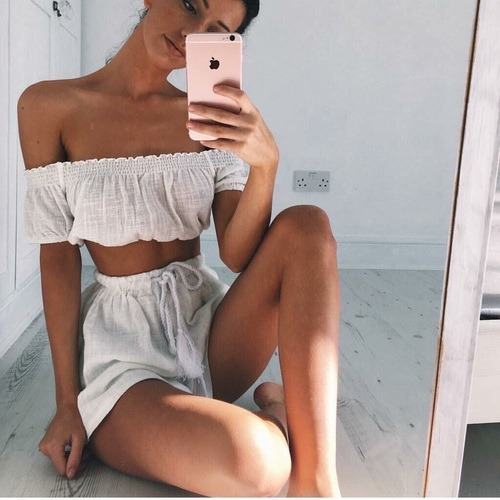 casual, lovely, and fashion image