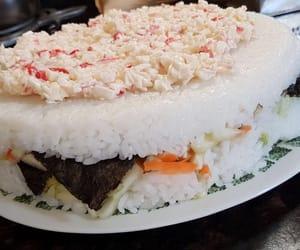 cake, nori, and carrot image