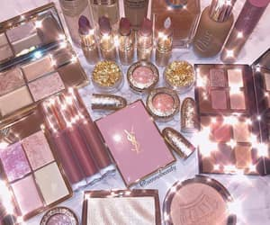 makeup, glamour, and glitter image