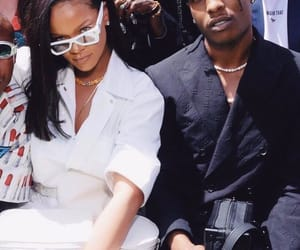 celebrities, rihanna, and asap rocky image