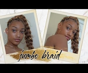 braids, hairstyles, and natural image