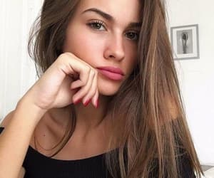 beauty, pose, and selfie image