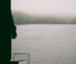 cabin, cozy, and fog image