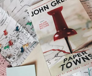 book, tumblr, and paper towns image