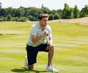 boy, golf, and handsome image