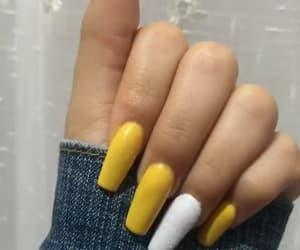 amarillo, blanco, and long image