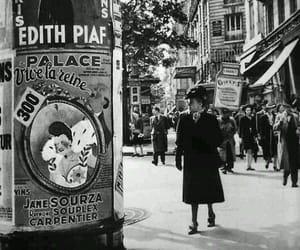 edith piaf and paris image