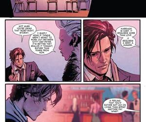 gambit, Rogue, and wedding image