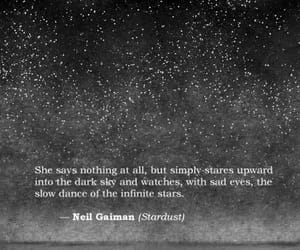 quotes, stars, and sad image