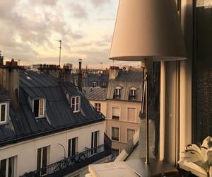city, paris, and sky image
