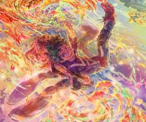 boku no hero academia, izuku midoriya, and anime image