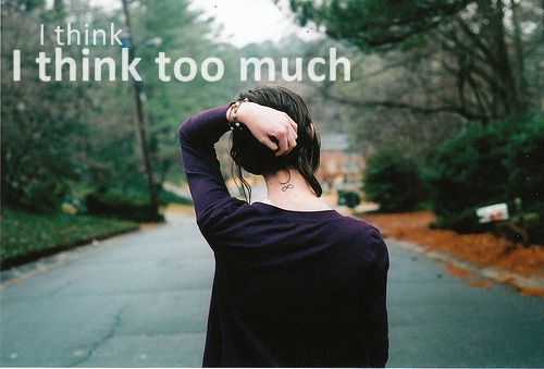 Think Girl Alone Happy Inspiring Picture On Favimcom