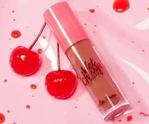 aesthetic, cherry, and lips image