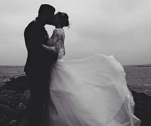 article, wedding dress, and marsala image