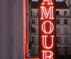 amor, neon, and love image