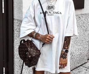 outfit and Balenciaga image
