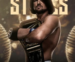 AJ, styles, and wwe image