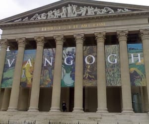 art, museum, and van gogh image