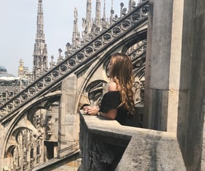 dom, italien, and milan image
