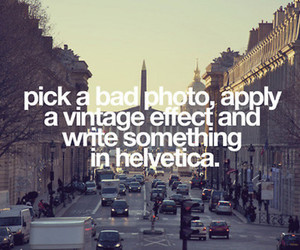vintage, photo, and text image