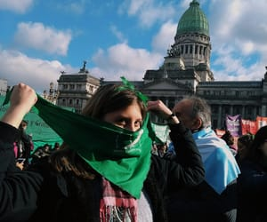 argentina, buenos aires, and feminism image