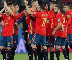 espana, football, and soccer image