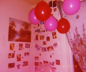 aesthetic, balloons, and cute image