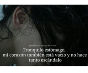 anorexia, vacío, and corazón image
