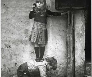 baby, blanco y negro, and infancia image