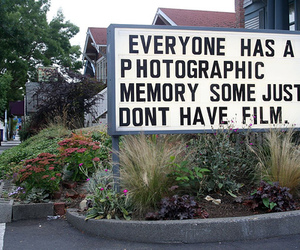 film, memory, and text image