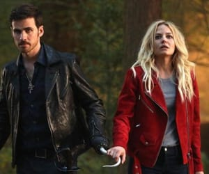once upon a time, Relationship, and captain hook image