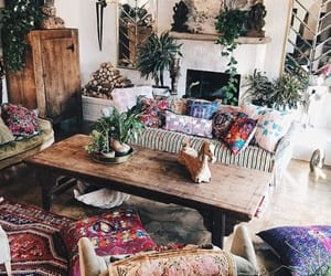 bohemian, boho, and hippie image