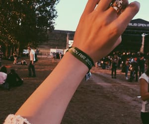 beer, ring, and musicfestival image