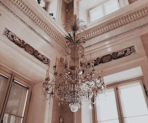 chandelier, diamond, and expensive image