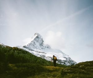 aesthetic, mountain, and travel image