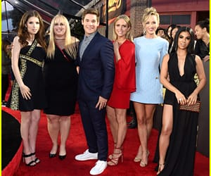 together, adam devine, and pitch perfect image