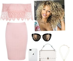 fashion, pink, and Polyvore image