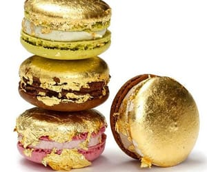 delicious, gold, and dessert image