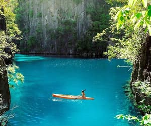 adventure, river, and blue image