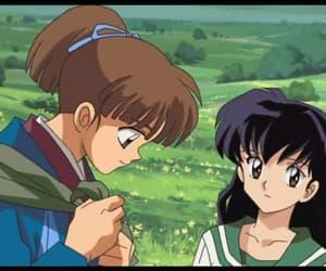 kagome, kagome higurashi, and inuyasha movie image