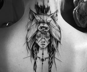 blackandwhite, tattooidea, and drawing image