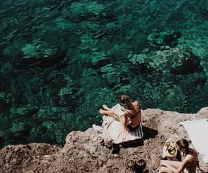 summer, girls, and Greece image