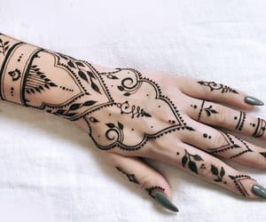 henna, mehndi, and tumblr image