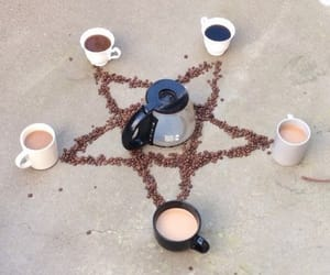coffee and pentagram image