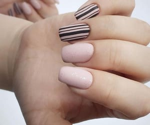 girl, nail art, and gorgeous image