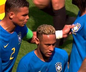 gif, thiago silva, and neymar image