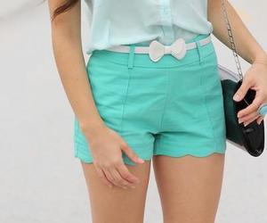 fashion, shorts, and bow image