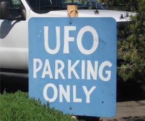 ufo, alien, and grunge image