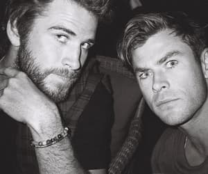 liam hemsworth, chris hemsworth, and actors image